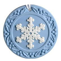 Snowflake  2001 Annual Jasperware Ornament by WEDGWOOD MADE IN UK NEW IN... - £34.37 GBP
