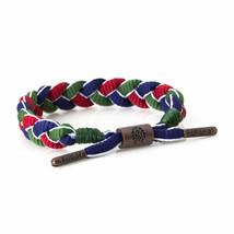 Rastaclat Magellan Green Red Blue Shoelace Braided Shoelace Bracelet NEW image 2