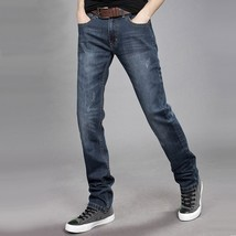 Men's Jeans - Autumn And Winter - Slim Straight - $56.10