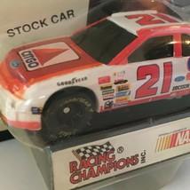 Racing Champions Morgan Shepherd Nascar Stock Car Toy #21 1995 Edition Citgo Vtg - $3.00