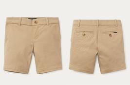 Polo Ralph Lauren Girls Stretch Chino Short Khaki Size 12 - $29.69