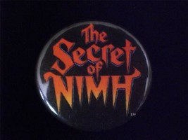 Secret of NIMH 1982 Movie Pin Back Button 2inches - $6.00