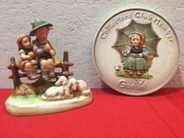 """Goebel Hummel Figurine - """"Eventide""""  #99 TMK-2 Rare - $35.00"""