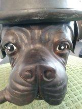 Vintage Bulldog Dog Derby & Cigar Container Dish Figurine Tobacco Jar Humidor Co image 6