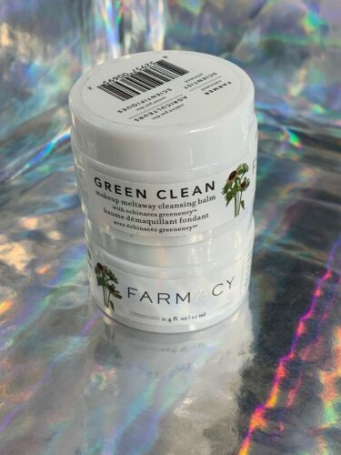 2x Farmacy Green Clean Makeup Meltaway Cleansing Balm 12mL