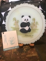 VINTAGE FENTON MOTHERS DAY 1984 Precious Panda Signed S. Bryan Stand Tag - $29.69