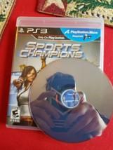 Sports Champions (Sony PlayStation 3, 2010) - $25.99