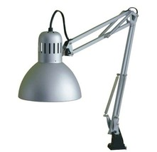 Ikea Tertial Gray Desk Lamp Adjustable Arm & Head Clip On - $23.41
