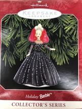 Hallmark Keepsake Holiday Barbie Collector Christmas Ornament 1998 - $10.11