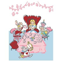 ALICE IN WONDERLAND BLANKET TWIN/FULL SIZE HIGH QUALITY BLANKET  - $39.59