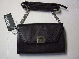 Harley-Davidson Crossbody Phone Purse W/Bar & Shield Logo, Black Leather... - $99.99