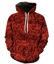 Unisex Rose 3D Hoodie All Over Print - $49.99