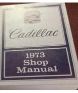 1973 GM Cadillac Deville Seville Fleetwood Eldorado Service Shop Manual NEW - $98.99