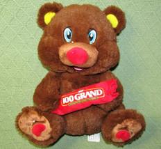 "Nestle Teddy Bear Stuffed Animal Chocolate 100 Grand Kellytoy 9"" Plush Advert - $19.80"