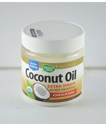 Nature's Way Organic Coconut Oil Extra Virgin 16oz. two oack 32 z) Lot c... - $22.76