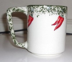 Hot Peppers Ceramic 16oz.  Graphic Coffee Cup - $5.36