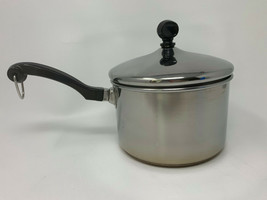 Farberware TQQ08 2 Qt 1.9L Sauce Pan Stainless Steel Impact Bonded (19-954) - $33.20