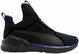 Puma Fierce Velvet VR Puma Black-Icelandic Blue 190348 02 Women's Size 7 - $110.00