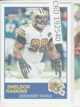 2019 Panini Sheldon Rankins DT New Orleans Saints #271  192540 - $1.86
