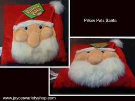 "Pillow Pals Santa Holiday 12"" x 12"" - $13.99"