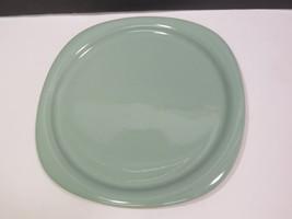 Vintage ROSENTHAL STUDIO LINE GREEN SQUARE PLATTER CHOP PLATE GERMANY Li... - $41.58