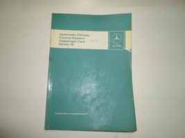 1976 MERCEDES Automatic Climate Control System Passenger Series 116 Manu... - $27.71