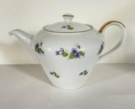 Seyei Violets Tea Pot EUC - $88.11