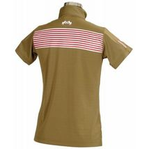 Equine Couture Kids Child Youth Patriot Polo SS Olive Size XL image 2
