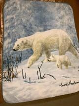 James Hautman Arctic Arrival Raschel Plush 48x60 Throw/Blanket - $23.15