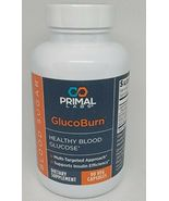 Primal Labs GlucoBurn 90 Veg Caps Healthy Blood Glucose Exp 01/2023 - $30.48