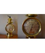 Vintage 50s 60s Table Top Barometer Mid Century Modern MCM Nautical Decor - $49.99