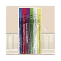 Multi-Colored Foil Doorway Curtain 2.4m Long 94cm Wide - $6.39