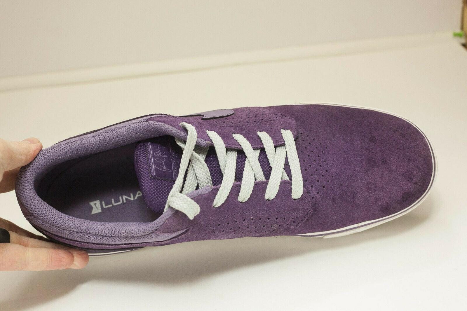 Nike Paul Rodriguez US 13 Purple Sneakers Men's Skate Shoes