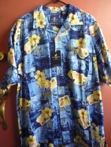Caribbean Joe men's silk shirt XL - $19.00