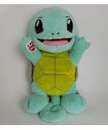 """Build A Bear Pokémon Squirtle Green Turtle Plush BABW Large 15"""" Anime Retired - $35.62"""