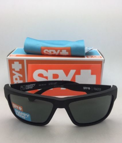 2851884e8c30c New SPY OPTIC Sunglasses FRAZIER Matte Black Frames with Happy Grey-Green  Lenses