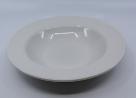 "Royal Doulton Fine China Porcelain White Rimmed Soup Bowl 22.0 cm 8 5/8"" Wide - $31.60"