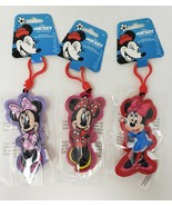 Disney Minnie Mouse Plush Bag Clip - New - $8.99