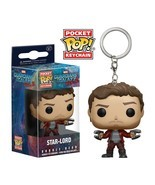 Funko Pop Keychain Guardians of the Galaxy 2 Star Lord Toy Figure - $21.29 CAD
