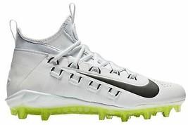 Nike Alpha Huarache 6 Elite Lax Mens 880409-107 Lacrosse Cleats Size 7.5 - $54.44