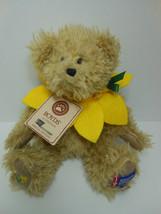 """Boyds Daffodil Days Bear Liv N. Hope 7"""" Bear Spring 2011 American Cancer... - $13.99"""