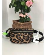 New Michael Kors Leopard Nylon Adjustable Belt Bag Fanny Pack B2S - $108.89