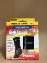 Mueller 4-Way Stretch Ankle Support- Small/Medium  (101A) - $8.66