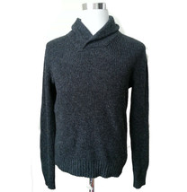 American Eagle Outfitters Men Size S Sweater Wool Blend Charcoal Gray Sh... - $29.05