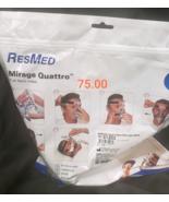 ResMed Mirage Quattro Cpap Mask *MEDIUM* - $75.00