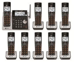 AT&T CL83213 9 Big Button Cordless Phones Answering Machine & Talking Caller ID - $278.60