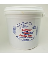 CJ's Catfish Punch Bait, Shad Flavored, 1/2 Gallon Bucket, Channel Catfish - $33.95