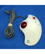 Logitech T-CL13 Trackman Marble+ Wired Trackball PS/2 804269-1000 - $24.39