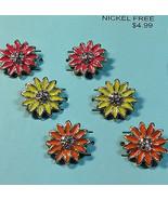 Jewelry Liquidation TARGET Lot Box 400-  $1998 value  Women's Flower Ear... - $48.45