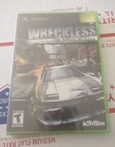Wreckless The Yakuza Missions XBox Brand New Sealed Black Label NIP - $28.98
